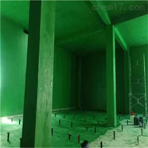 混凝土结构防腐施工中温玻璃鳞片胶泥