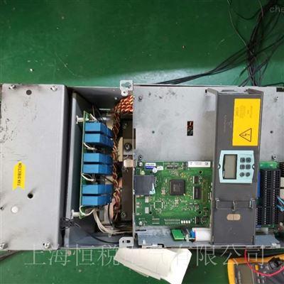 徹底修複西門子6RA80直流傳動器上電報警