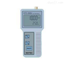 HTC-208U微电脑手提式溶氧温度仪