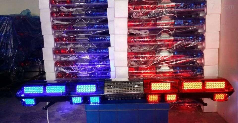 救护车长排警灯蓝色LED电子警报器维修