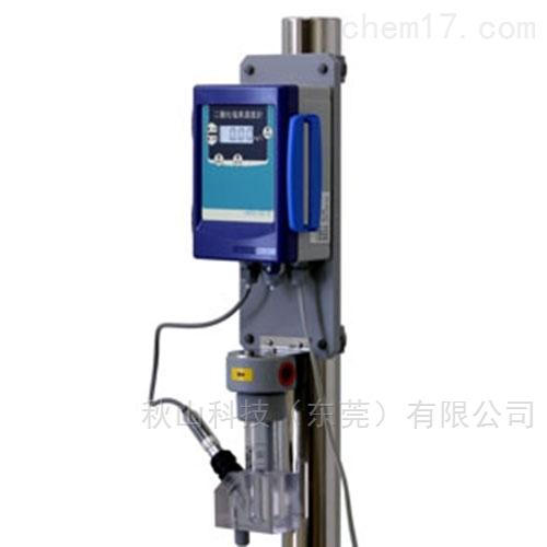 日本technoecho连续测量浴池中二氧化氯浓度