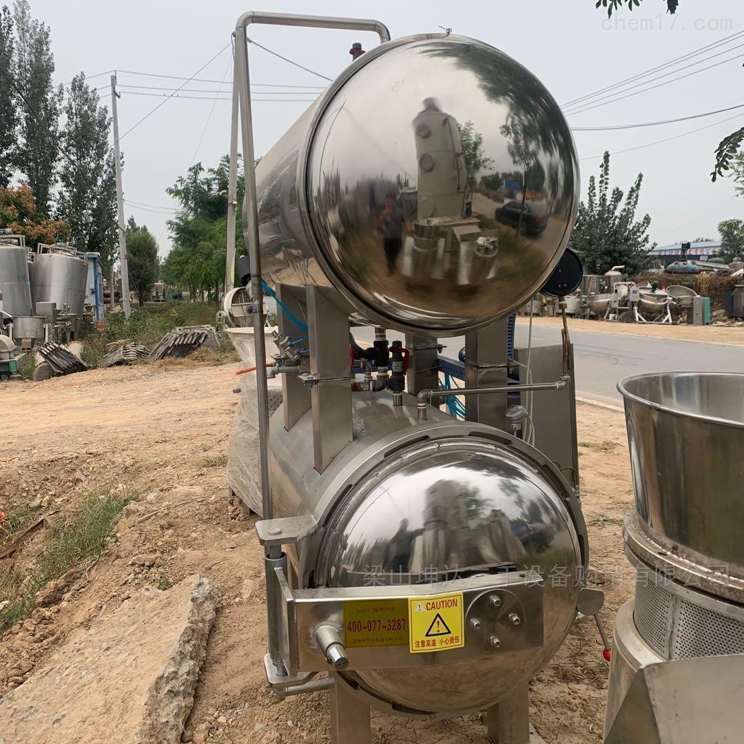 二手双层电加热高压杀菌锅 压力容器