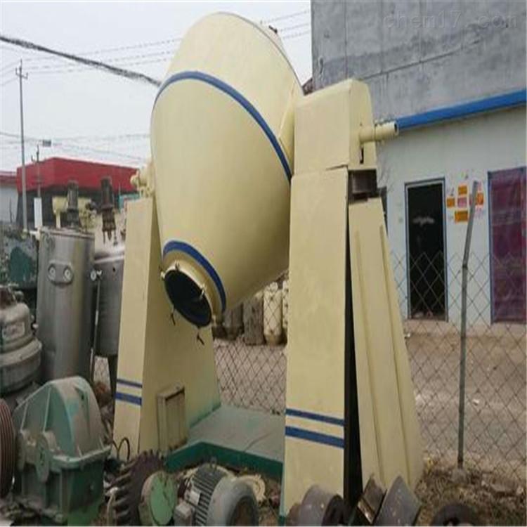 回收供应二手不锈钢 搪瓷双锥干燥机价格