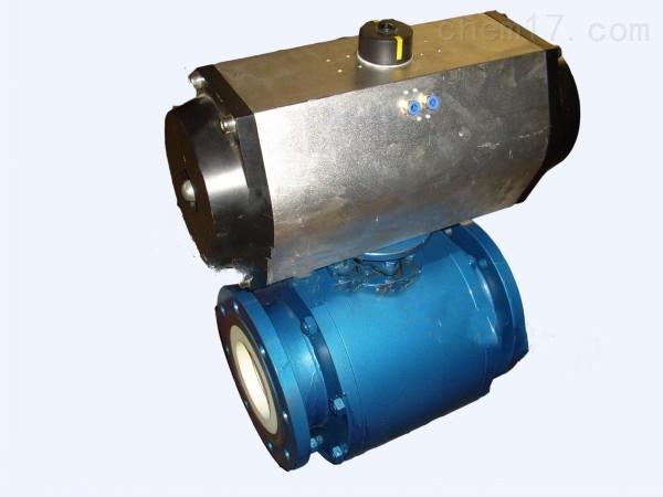气动耐磨陶瓷球阀