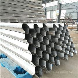 除油神器金属斜管填料也称蜂窝状斜板组合件