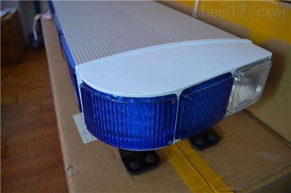 电动车车顶警示灯LEDUSB播报长排灯警报器