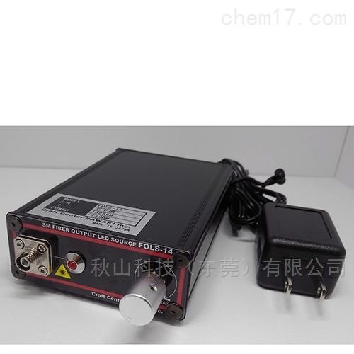 日本ccsawaki光通信频段SM光纤输出LED光源