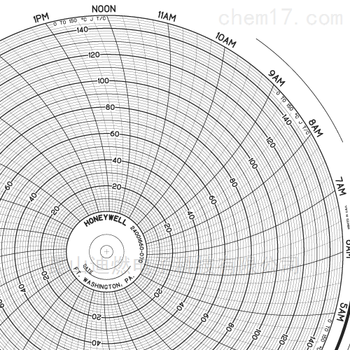 24001660-070霍尼韦尔圆盘记录纸