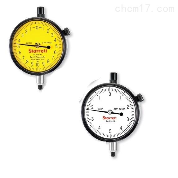 美国 starrett 施泰力指示表0.01mm 0.001mm