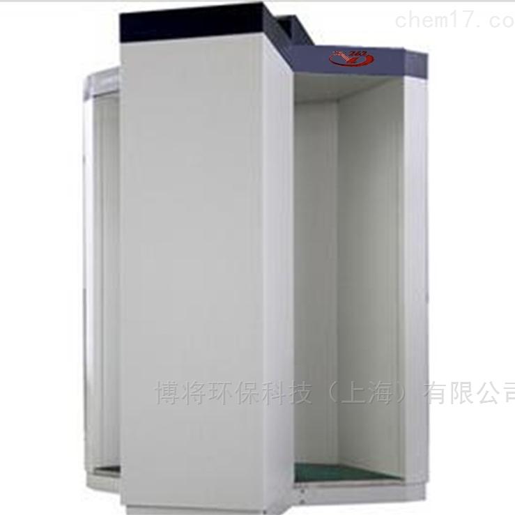 站立式人体辐射数据收集系统