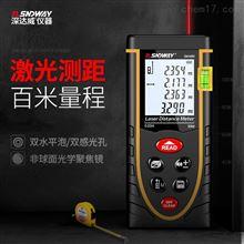SW-M50/M80/M100深達威激光測距儀高精度紅外測量儀電子尺