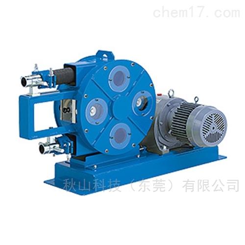 日本meitou名东化工转移金属粉浆的管泵