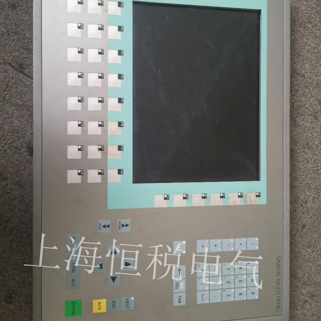 西门子工业计算机PC847启动黑屏无显示维修