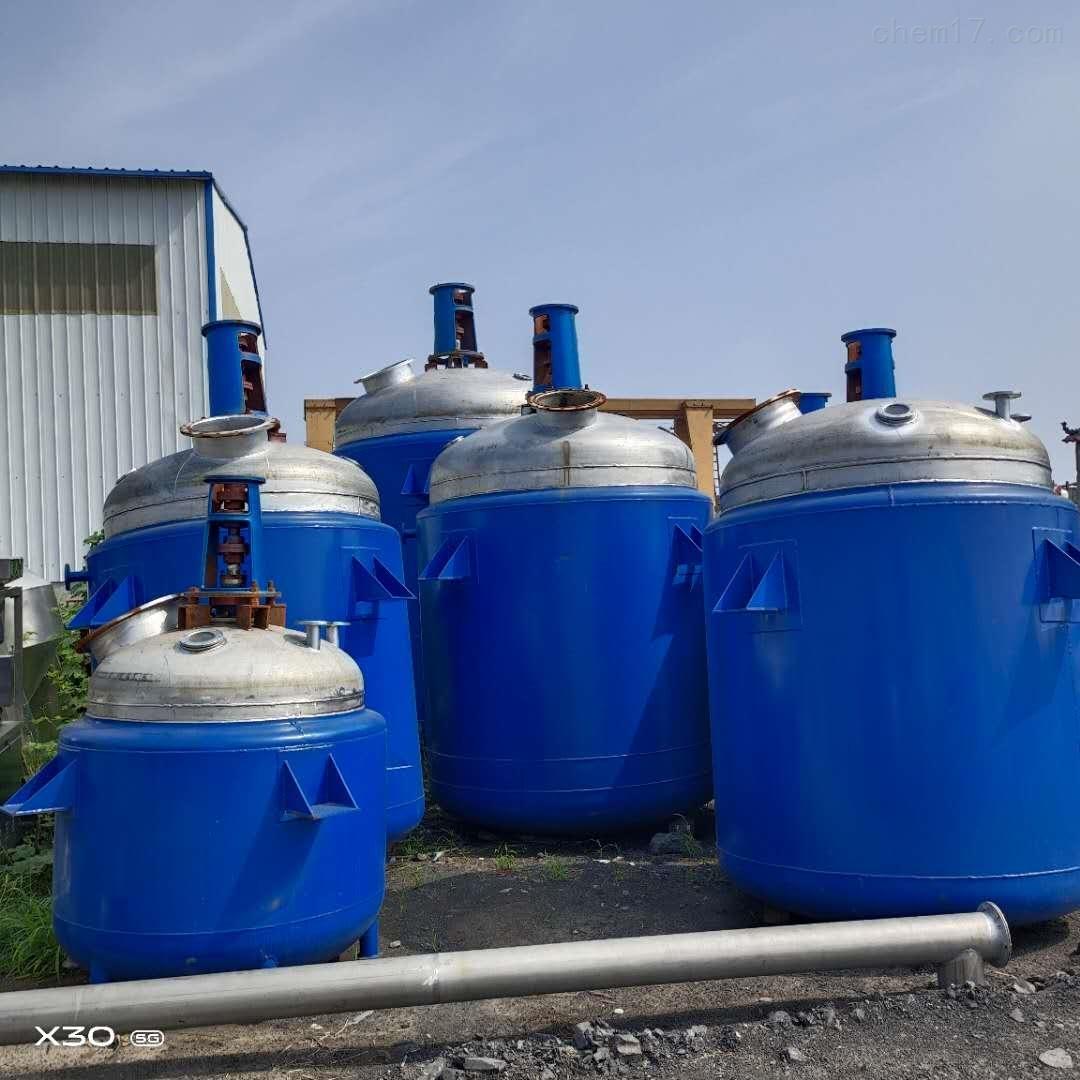 常年提供二手电加热反应釜耐高温环保卫生