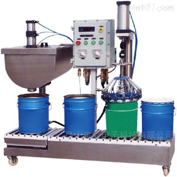 自动锁盖液体灌装机