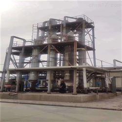 热销两吨三效钛材强制循环蒸发器