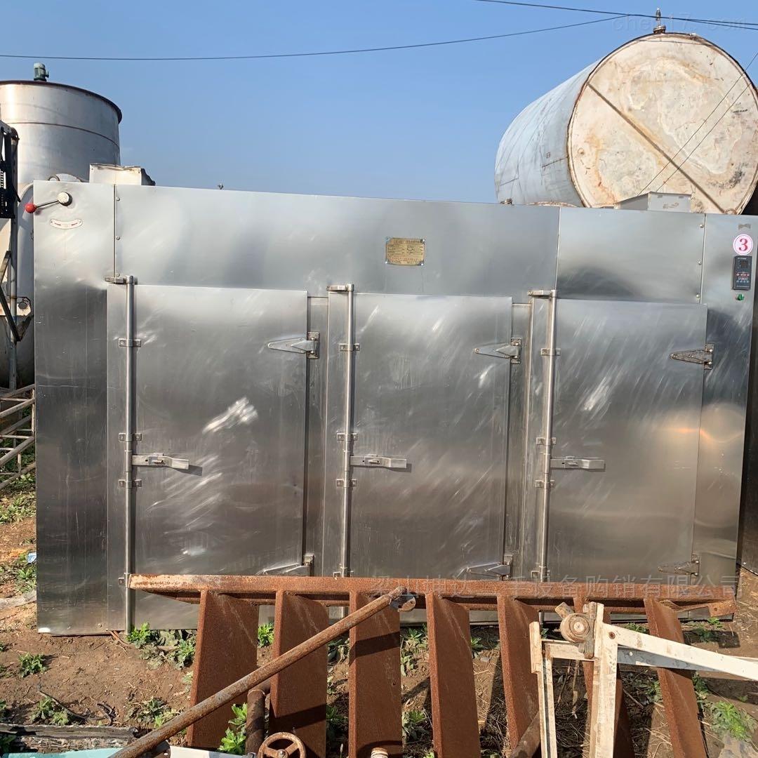 二手3门6车电汽两用烘箱 热风循环干燥箱