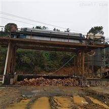湖北宜昌洗砂泥浆污水处理压泥脱水零排放