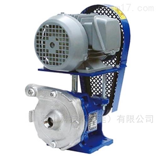 日本malhaty三角皮带传动小型不锈钢旋流泵