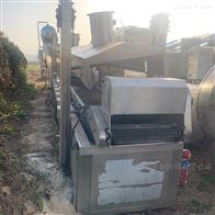 7米 8米二手电加热油水分离 全自动油炸生产线