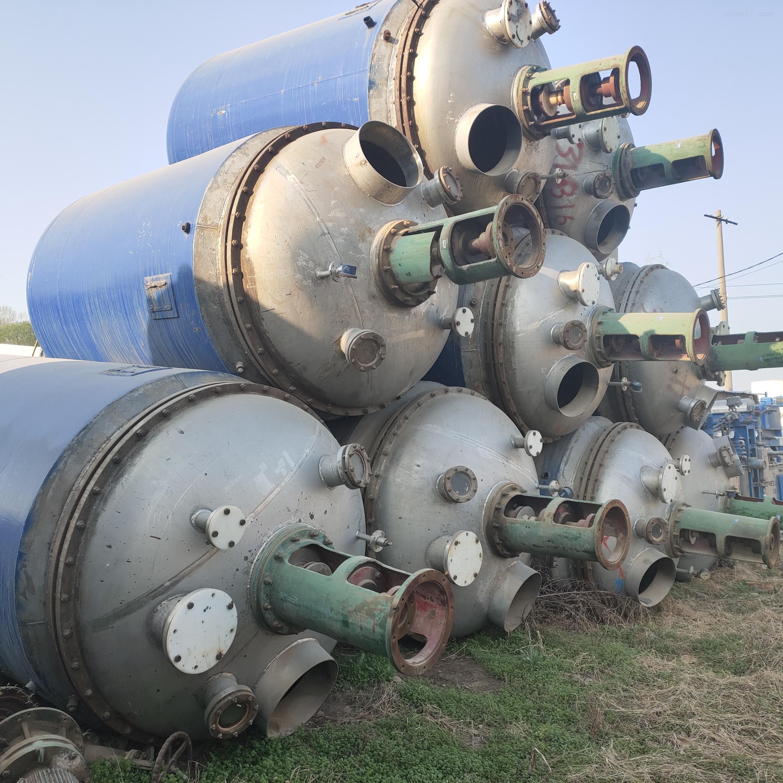 厂家出售二手高压电加热反应釜
