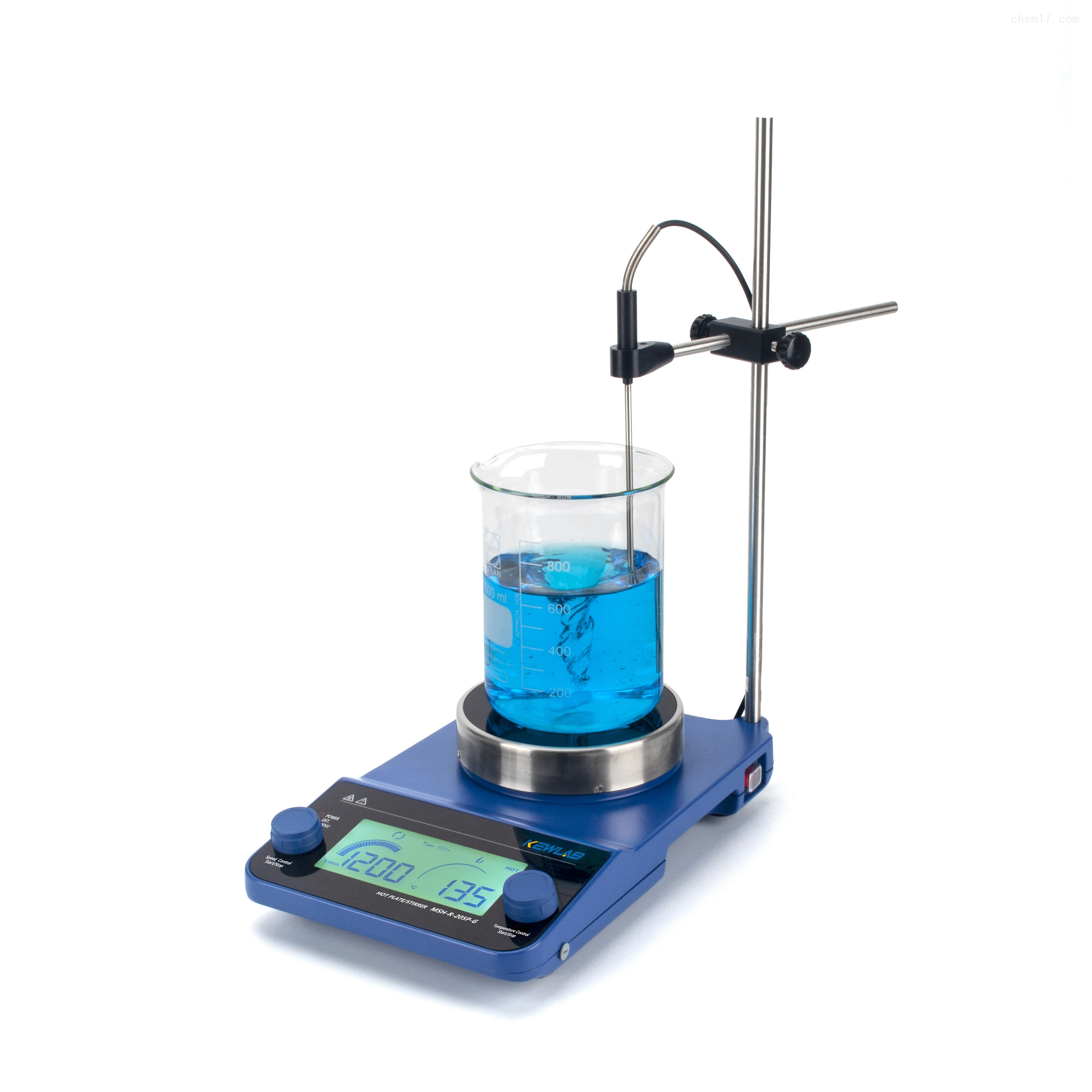 数显控温磁力搅拌器