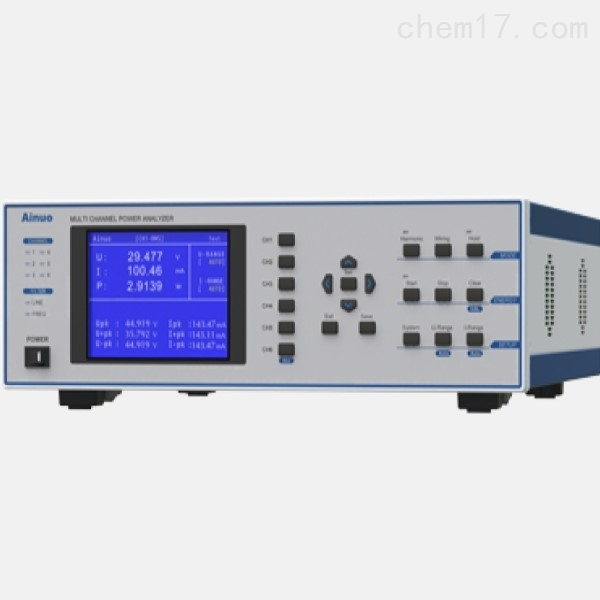 艾诺Ainuo AN87500 高性能多通道功率分析仪