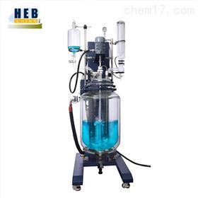 SJHEB-100L自動升降雙層玻璃反應釜