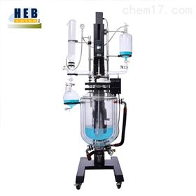 自动升降30L三层玻璃反应釜SJHEB-30L