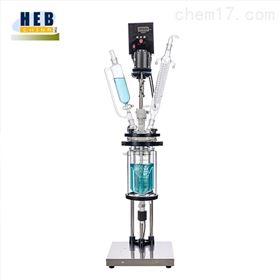 3L双层玻璃反应釜(器)HEB-3L