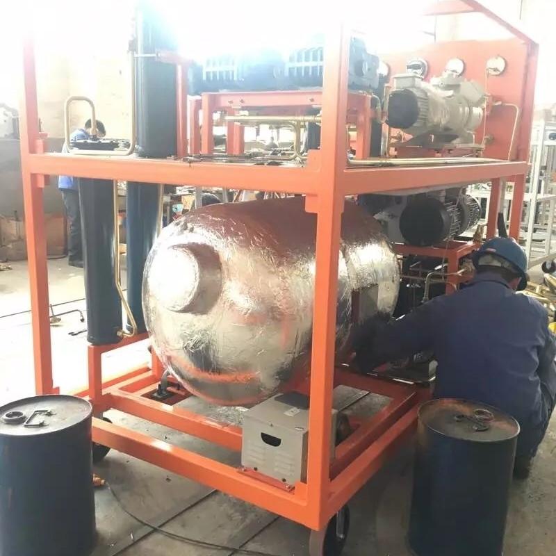 SF6气体回收装置性能指标