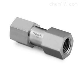 SS-CHF8-1/3世伟洛克高压单向阀