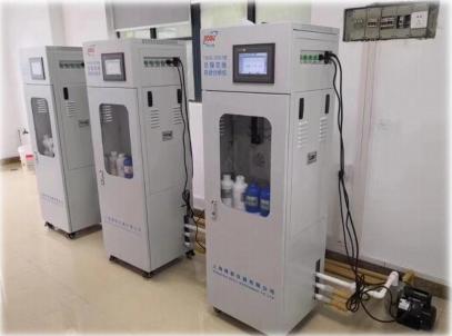 上海中國彈簧制造總廠車間排水水質檢測總鎳等重金屬監測儀項目