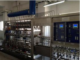 大唐黑龍江五常生物發電汽車取樣架項目:PH 電導率 溶解氧