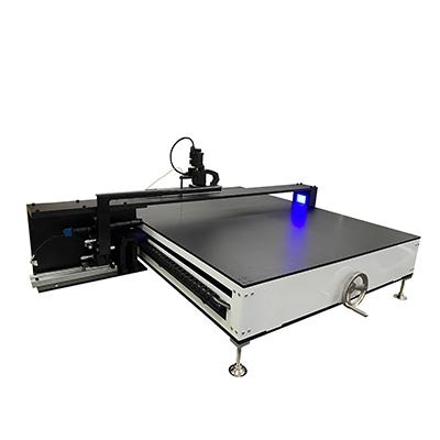 上海艾飞思的自动滴液大平台接触角测量仪交付客户使用