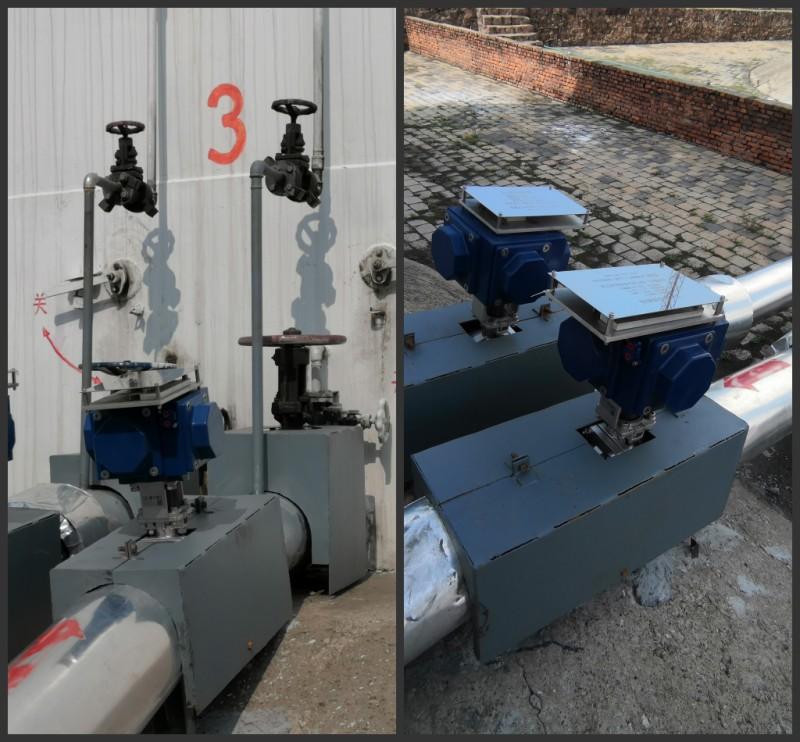 首钢矿业物资企业总油库安装油罐vnsc威尼斯城官网登入提高应急处置能力