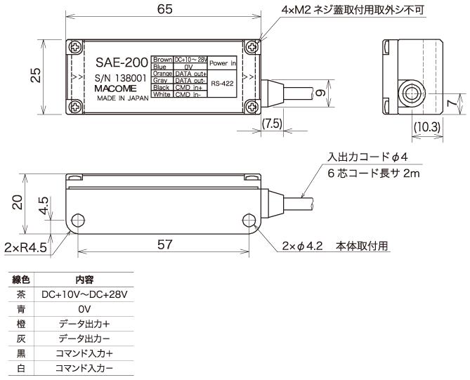 """式线性编码器磁性检测头""""SAE-200"""