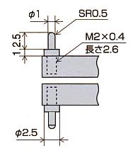 测针尺寸图LB-7S