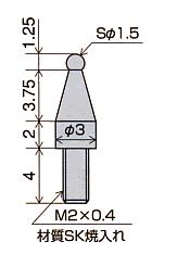 测针尺寸LA-14,LB-14