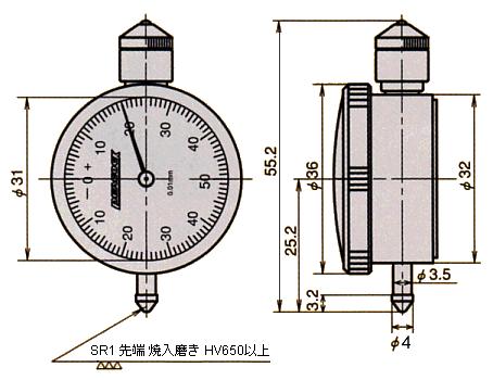 外形尺寸U-1