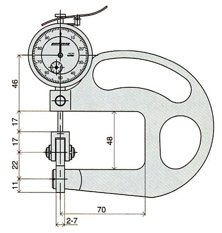 外形尺寸HR-1