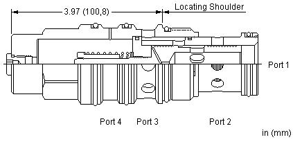 PSJT : 直动式, 减压/溢流 主级 口4导压