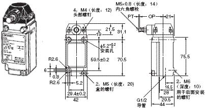 D4A-□N 外形尺寸 21