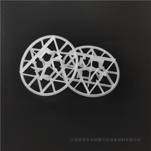 塑料雪花环