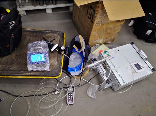 压缩空气含油量检测