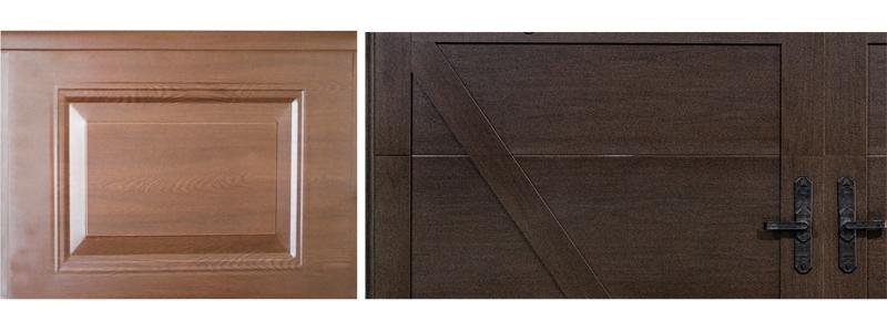 仿实木上滑门面板材质