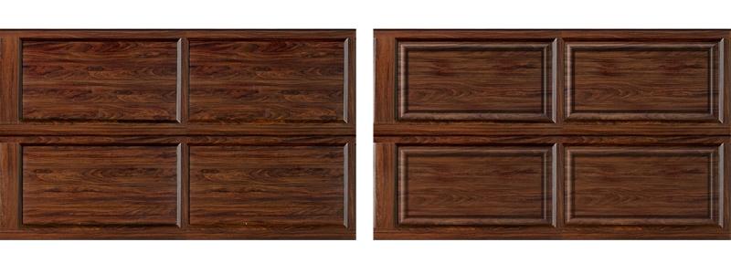 铝合金仿木排挂门面板造型