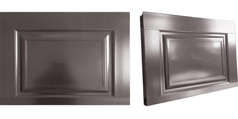 铝合金折叠车库门面板材质