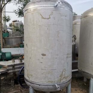 二手5吨不锈钢储罐