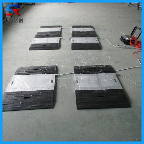四块板高精度静态汽车轴重秤